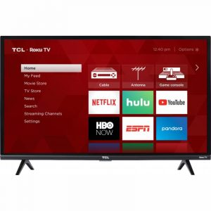 "TCL 32"" 4K UHD 32S335 Roku TV Smart"