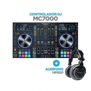 DENON MC7000+HP800