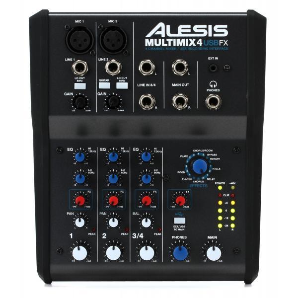 ALESIS Multimix 4 USB FXPTOOLS