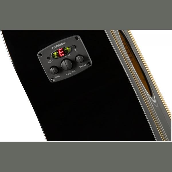 FENDER CD-60SCE Dreadnought, Walnut Fingerboard, Black
