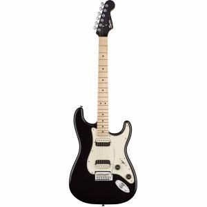 SQUIER Contemporary Stratocaster HH, Maple Fingerboard, Black Metallic