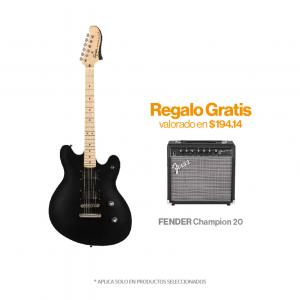 SQUIER Contemporary Active Stratocaster MN Flat Black