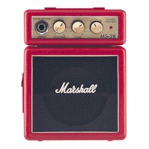 MARSHALL MARSHALL MS-2 Mini Amp Red
