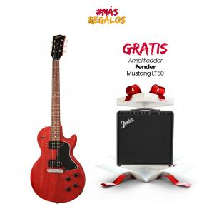 GIBSON LPSPTH01AYCH1 Les Paul Special Tribute Humbucker Vintage Cherry Satin