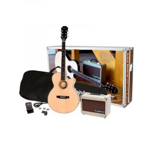 EPIPHONE PR-4E Acoustic Electric Guitar Player Pack