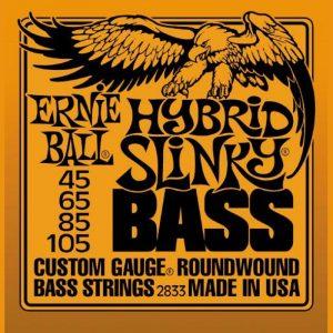 ERNIE BALL P02833 HYBRID SLINKY BASS NICKEL WOUND