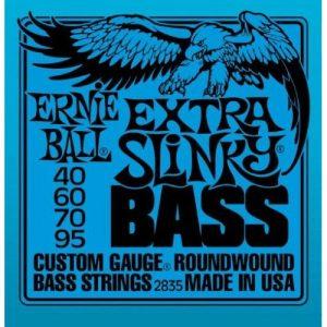 ERNIE BALL P02835 EXTRA SLINKY BASS NICKEL WOUND