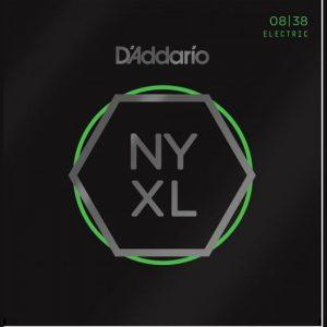 DADDARIO NYXL0838 Nickel Wound, Super Light, 8-38