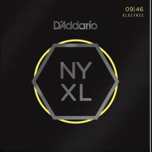 DADDARIO NYXL0946 Nickel Wound, Super Light, 9-46