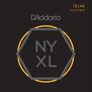 DADDARIO NYXL1046 Nickel Wound, Regular Light, 10-46