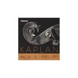 DADDARIO K610 3/4M KAPLAN BASS SET 3/4 MED