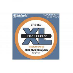 DADDARIO EPS160 XL ProSteels Round Wound