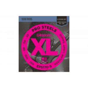 DADDARIO EPS170-5 XL ProSteels Round Wound