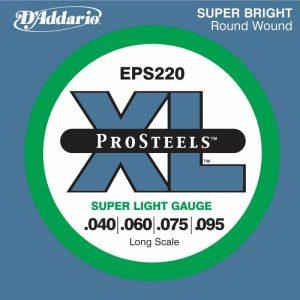 DADDARIO EPS220S XL ProSteels Round Wound
