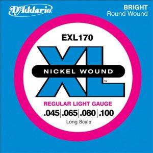 DADDARIO EXL170 Nickel Wound Bass