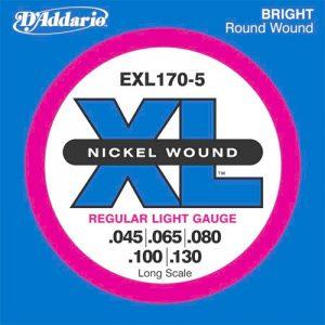 DADDARIO EXL170-5 Nickel Wound 5-String Bass