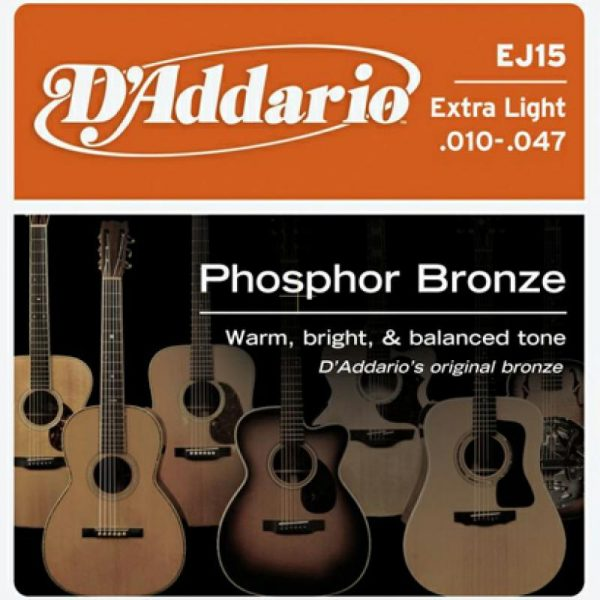 DADDARIO EJ15 Phosphor Bronze  Extra Light  10-47