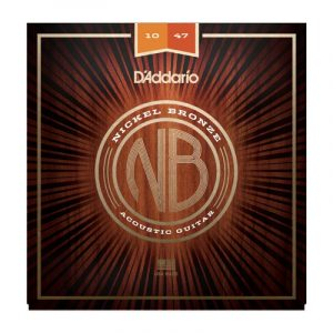 DADDARIO NB Nickel Bronze Acoustic Guitar String NB1047
