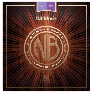 DADDARIO NB Nickel Bronze Acoustic Guitar String NB1152