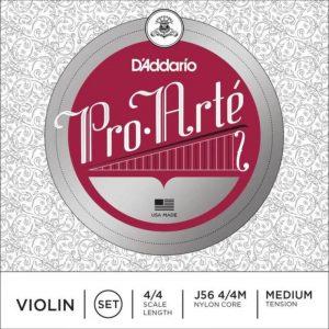 DADDARIO J56 4/4M PROARTE VIOLIN SET 4/4 MED