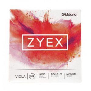 DADDARIO DZ410 LM ZYEX VIOLA SET LONG MED