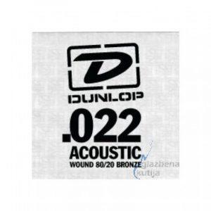 DUNLOP DAB22 SNGLE .022 WND-EA