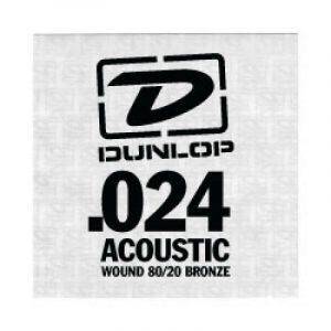 DUNLOP DAB24 SNGLE .024 WND-EA