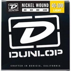 DUNLOP DBN40100 BASS-NKL LIGHT-4/SET