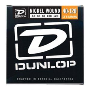 DUNLOP DBN40120 BASS-NKL LIGHT-5/SET