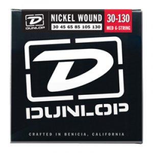 DUNLOP DBN30130 BASS-NKL MED-6/SET