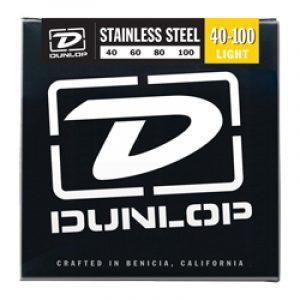 DUNLOP DBS40100 BASS-SS LIGHT-4/SET