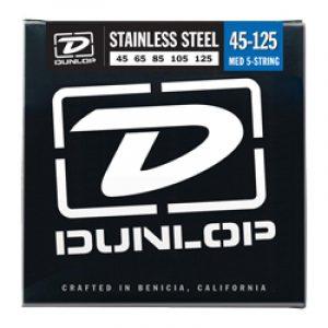 DUNLOP DBS45125 BASS-SS MED-5/SET