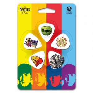 PLANET WAVES Beatles Picks Albums 10 Pack Thin 1CWH2-10B3