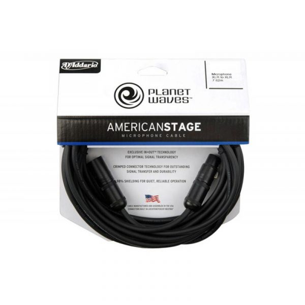 PLANET WAVES American Stage MIC  PW-AMSM-25