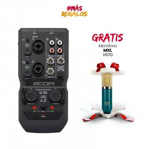 ZOOM U-24/120GL Handy Audio Interface