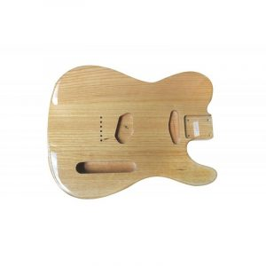 MIGHTY MITE Mighty Mite® Ash Telecaster® / Tele® Guitar Body + Natural Ash Finish + MM2705AF-NAT