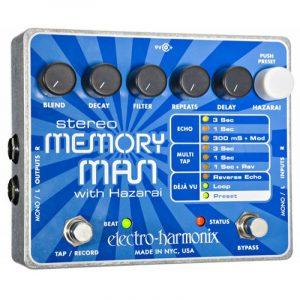 ELECTRO-HARMONIX electro-harmonix Stereo Memory Man with Hazarai Delay/Looper Pedal